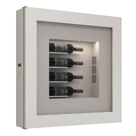 wall mounted wine cooler uk quadro vino single temperature wall mounted chagne