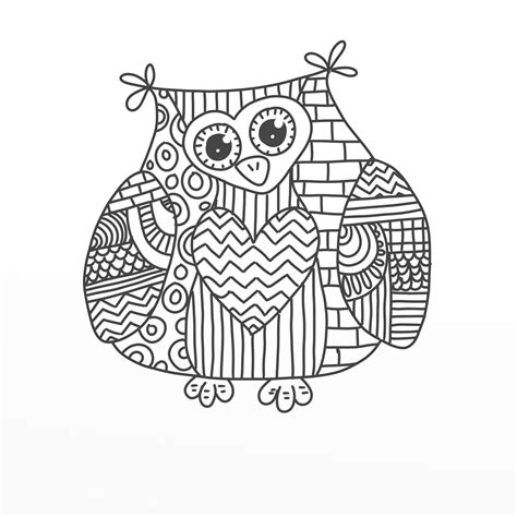 detailed owl coloring page 9 pics of detailed coloring pages owl cute detailed owl
