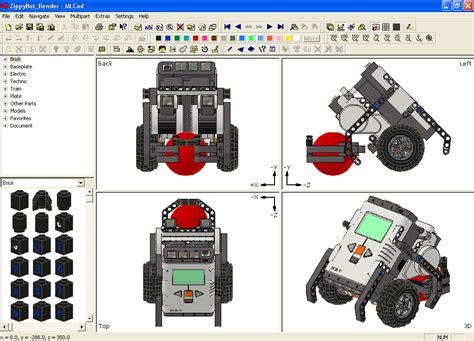 lego mlcad tutorial tutorial setting up ldraw to create virtual nxt robots