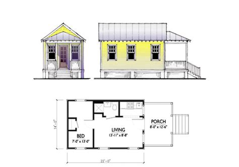 katrina cottages floor plans the katrina cottage model 308
