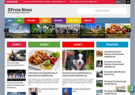 xpress news blogger template buy premium templates