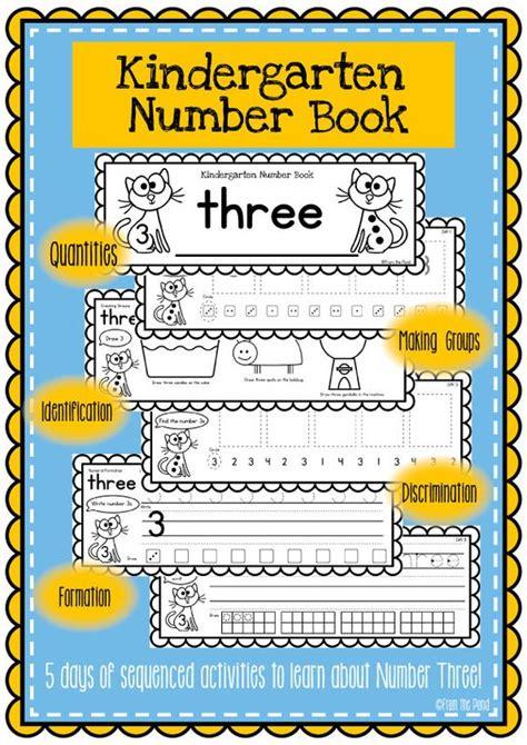 printable numbers book printable number books kindergarten cut and paste