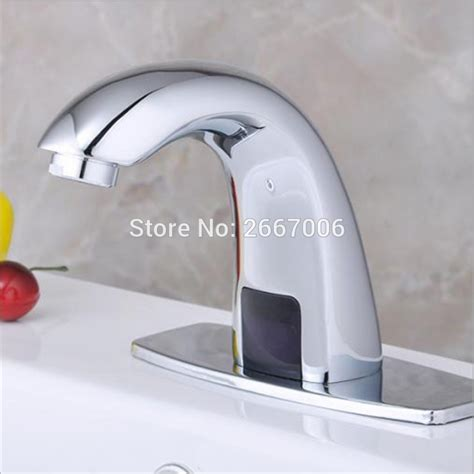 touch free bathroom faucet free shipping bathroom automatic hands touch free sensor