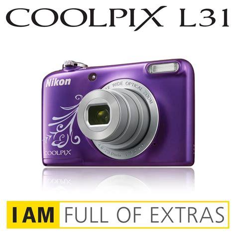 Kamera Nikon L31 nikon coolpix l31 digitalkamera 2 6 zoll violett