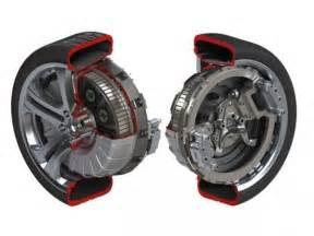 Electric Car Motor In Each Wheel Protean Electric Une Roue 224 Moteur 233 Lectrique Embarqu 233