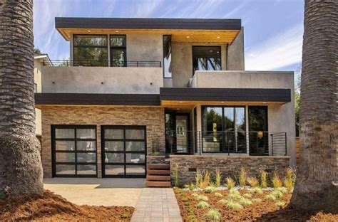 contemporary style home in burlingame california vous 234 tes int 233 ress 233 s par une maison toit plat 84