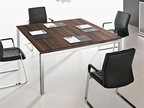 Square Meeting Table Square Meeting Table Eos Collection By Las Mobili