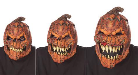 scary jack o lantern pumpkin headless horseman mask adult