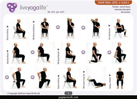 poses using a chair poses