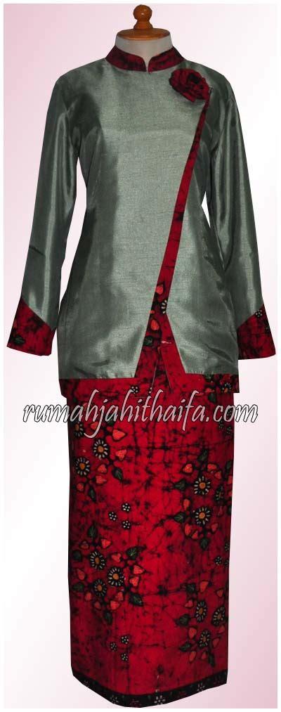 Setelan Sarimbit Batik Gamis Andin model batik rumah jahit haifa blouse batik rumah jahit