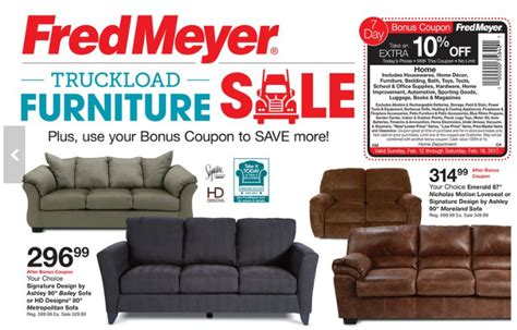 fred meyer bedroom furniture fred meyer truckload furniture event couches under 300