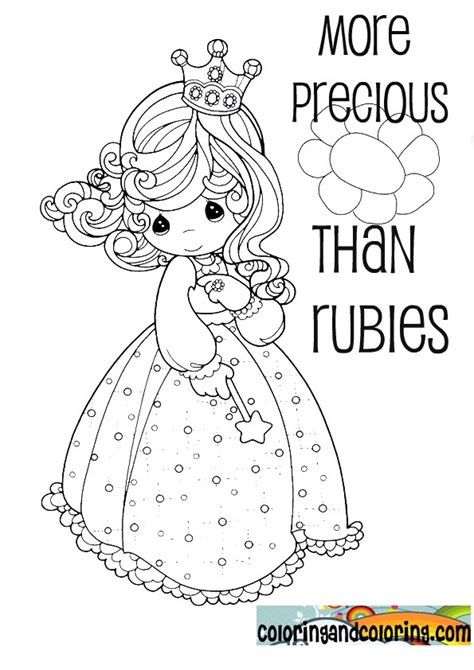 More Precious Than Rubies Conference Coloring Book Bible Precious Moment Coloring