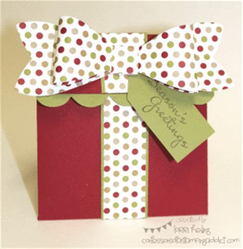 How To Present Multiple Gift Cards - present gift card holder interactive card confessions of a sting addict