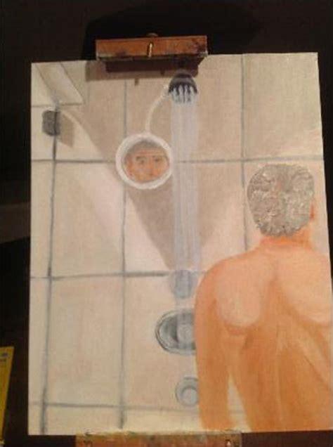 bush bathtub painting is george w bush depressed 187 alex jones infowars there
