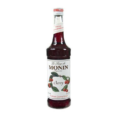 Monin Cherry 700 Ml Cafe Coffee Original Syrup Monin Cherry Syrup