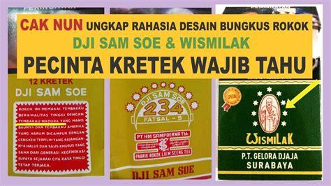 Rokok Dji Sam Soe Di Pasaran cak ungkap rahasia bungkus rokok dji sam soe dan wismilak pecinta kretek wajib tahu