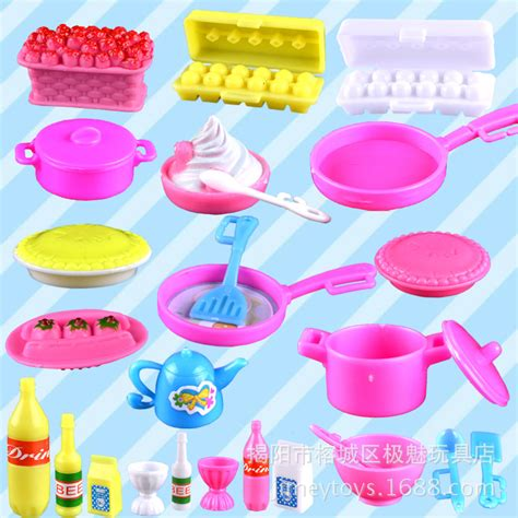 Mainan Cook aliexpress buy for doll accessory toys simulation kitchen set cooking sets