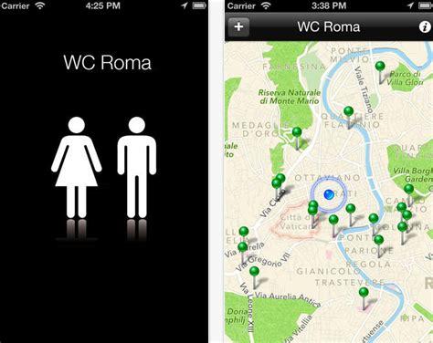 app bagni pubblici wc roma l app trova i bagni pubblici nella capitale