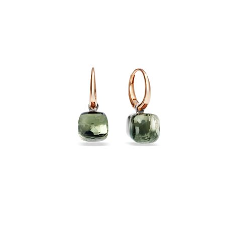 pomellato nudo earrings pomellato earrings nudo in pink lyst