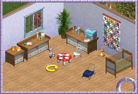 Sims 3 Bedroom Sets Around The Sims Bedroom 7 Baby World