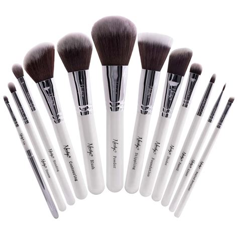makeup brushes buy masterful collection pearlescent white makeup brush