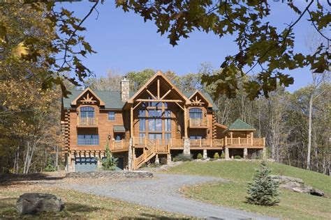 West Virginia Log Cabins For Sale by Log Home Photos Log Home Exteriors Expedition Log