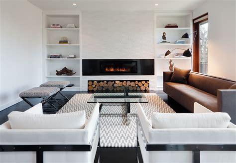 Contemporary Living Room Built Ins Modern Fireplace Contemporary Living Room Haus Interior