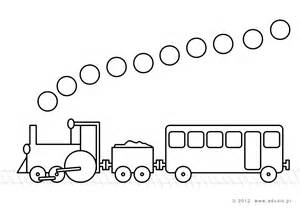Steam Engine Locomotive Coloring Pages sketch template