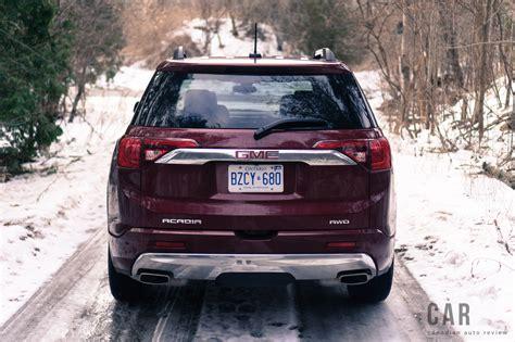 Gmc Arcadia Reviews by Review 2017 Gmc Acadia Denali Canadian Auto Review