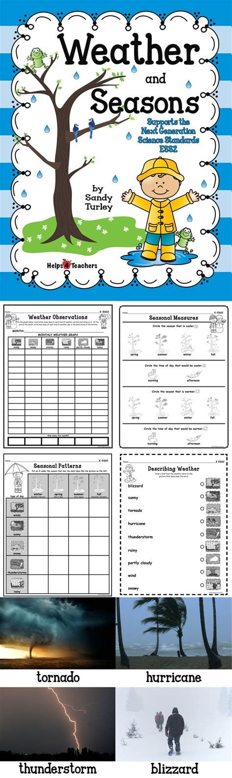 seasonal pattern en espanol best 25 weather worksheets ideas on pinterest weather 1