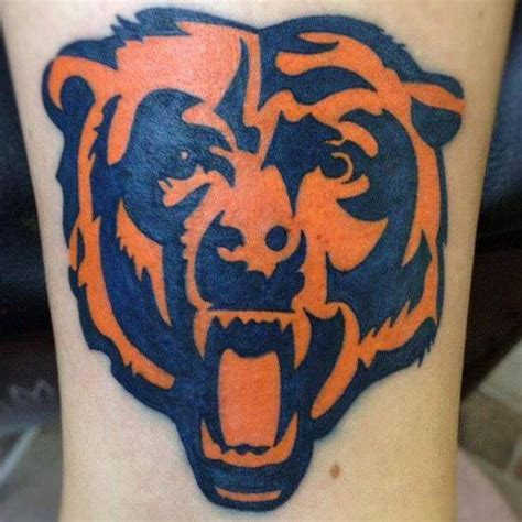 chicago bears tattoo designs 100 ideas to try about tattoos chicago bears