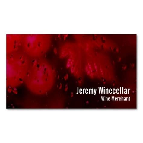 wine business cards templates 166 best images about wine business cards on