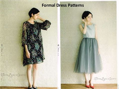 japanese dress design pattern japanese sewing patterns
