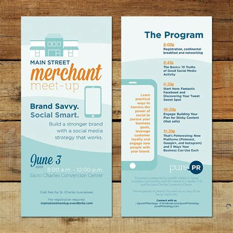19 Best Images About Graphic Design Rack Cards On Pinterest Studios Brochure Design And Card Rack Card Design Template