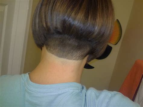 Staked Nape Bobs | 1000 images about stacked bobs on pinterest shaved nape