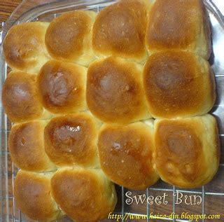 membuat roti bun cooking is like love bun manis