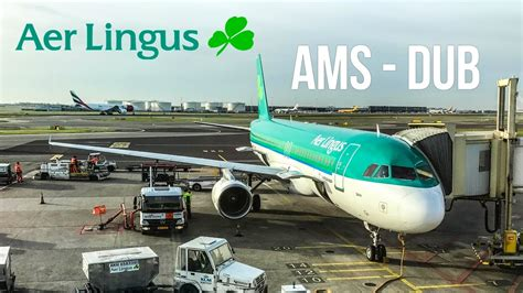 flight review amsterdam to dublin with aer lingus