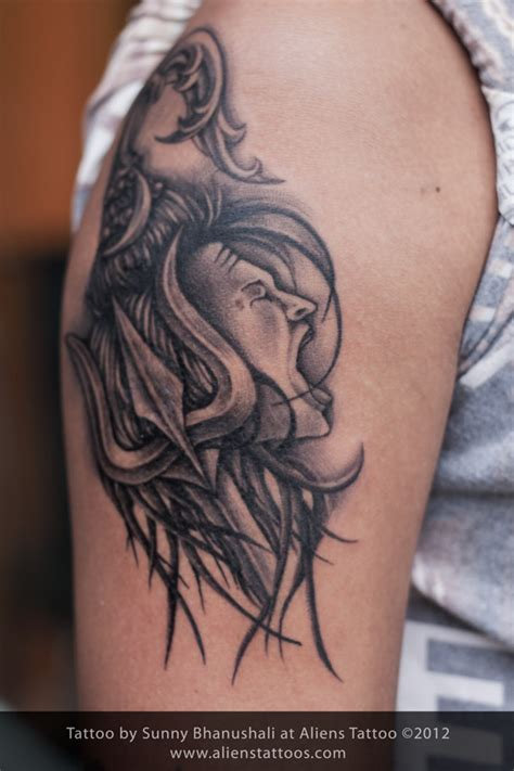 lord shiva tattoos for men 33 trishul images pictures and design ideas