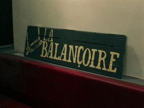 Restaurant La Balancoire by La Balan 231 Oire Restaurants 224 Abbesses