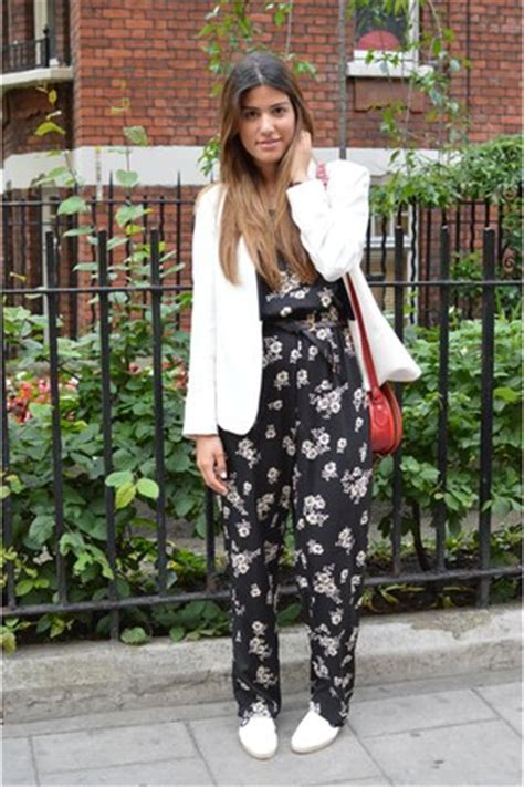 Jsjt217120770144 Jumpsuit Zara Jumpsuit Floral Beige jumpsuit with blazer how to wear and where to buy