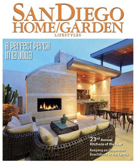 San Diego Home And Garden by Media Editorial Magazine Article Cast Glass Images
