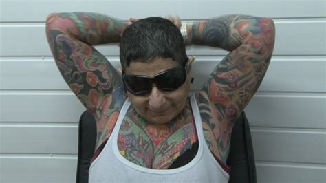 blind has tattoos all blind rhyl gets in record bid