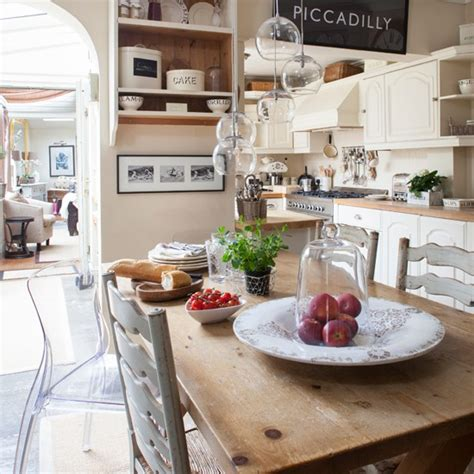 country kitchen diner ideas french farmhouse style kitchen diner traditional
