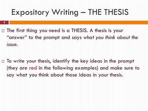 Essays Exles by Expository Essay Thesis Exles 28 Images College Essays
