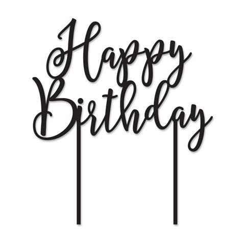 Caketopper Cake Topper Happy Birthday L happy birthday cake topper png creative ideas