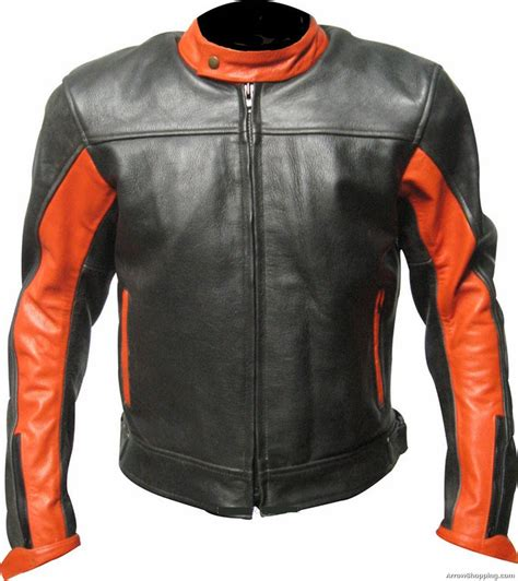Handmade Leather Motorcycle Jackets - genuine custom made leather motorcycle jacket for stylish