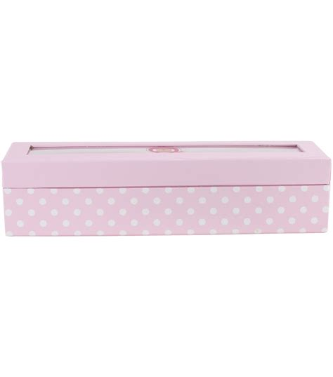 Jo In Storage Jewelry Box Pink trendy storage box pink jo