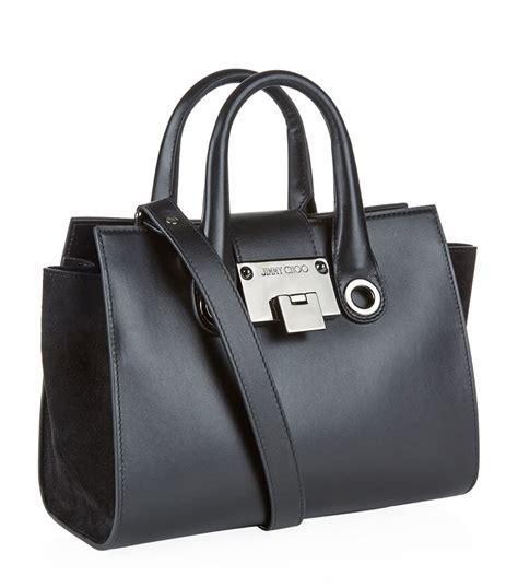 Jimmy Choo Dessy Holdall Handbag by Lyst Jimmy Choo Crossbody Bag In Black