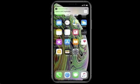 el nfc de los iphone xs xs max y xr es un poco m 225 s abierto