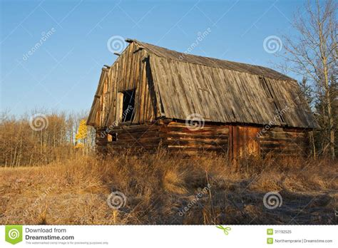 old log barn stock photos image 16113943 abandoned old log barn in fall royalty free stock photo